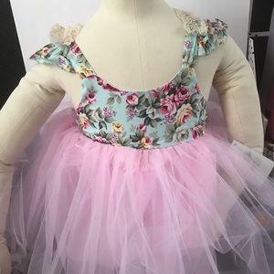 Floral tutu dress,tutu dress, floral dress,tutu